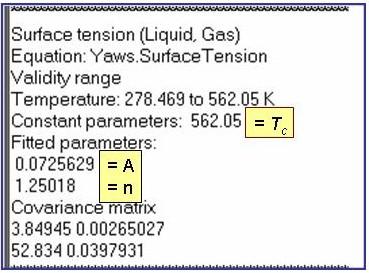 Equation Descriptions